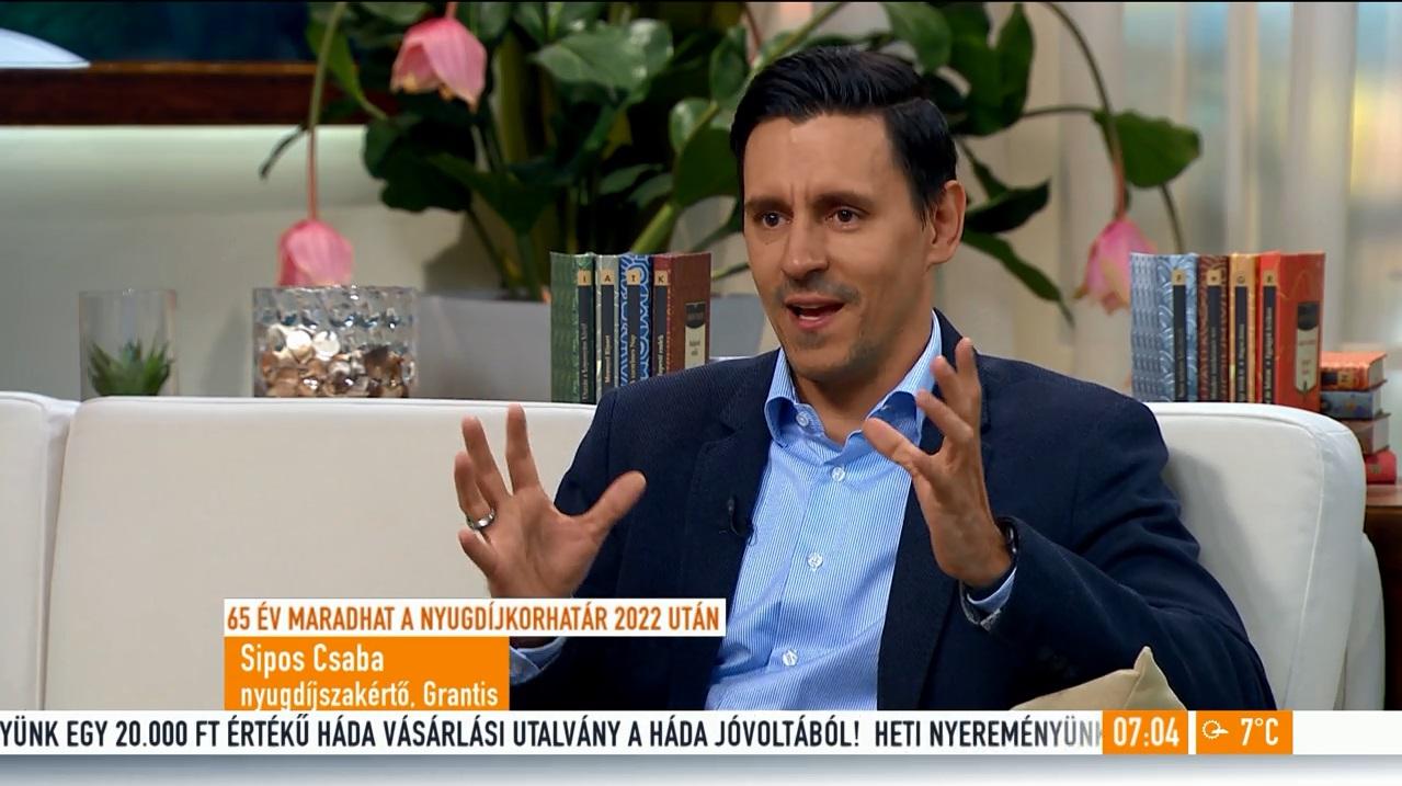 TV2: Meddig marad 65 év a nyugdíjkorhatár?