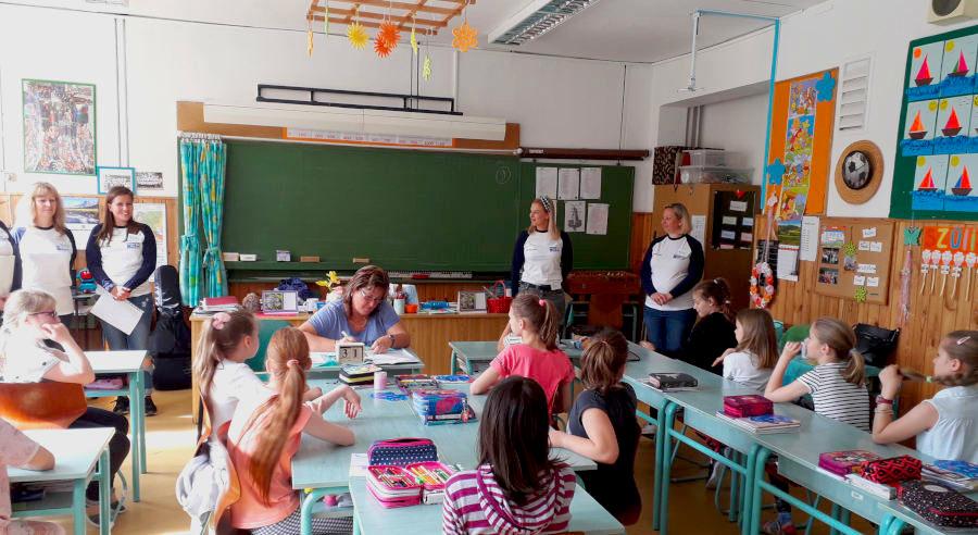 Tanácsadóink játékkal tanították pénzügyi tudatosságra az általános iskolásokat